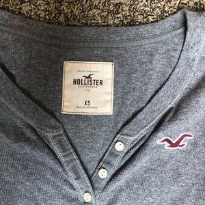 Hollister Tops - Hollister button long sleeve top